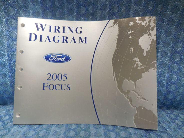 2005 Ford Focus OEM Wiring Diagrams Manual #Ford