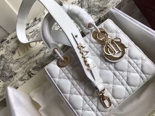 1798ae63ce Christian Dior MY ABCDIOR LAMBSKIN BAG White | RICH,LUX and ...