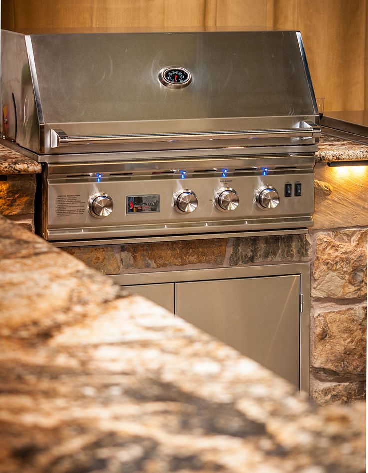 Built In Grill: 17 Best Built-in Grills & BBQ Islands Images On Pinterest