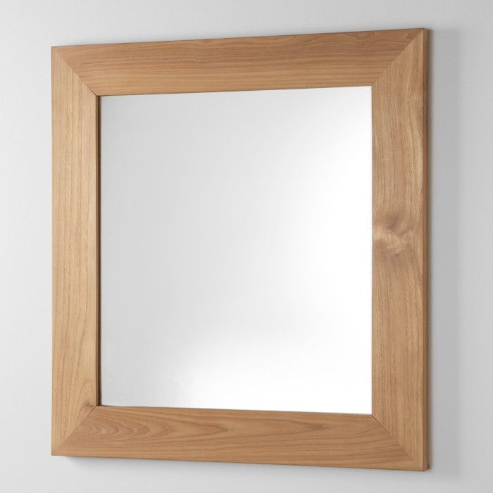 """30"""" Iwan Teak Vanity Mirror"""