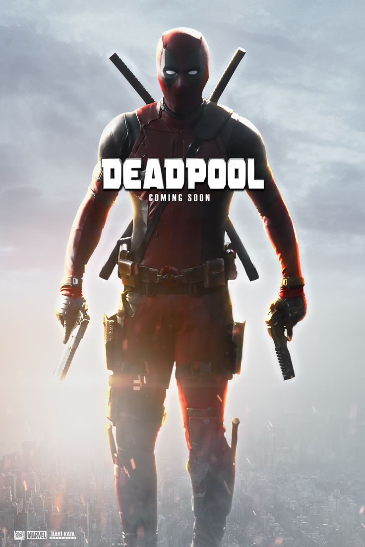 The Merc With The Mouth Is Ready For Action In Awesome New DEADPOOL Images