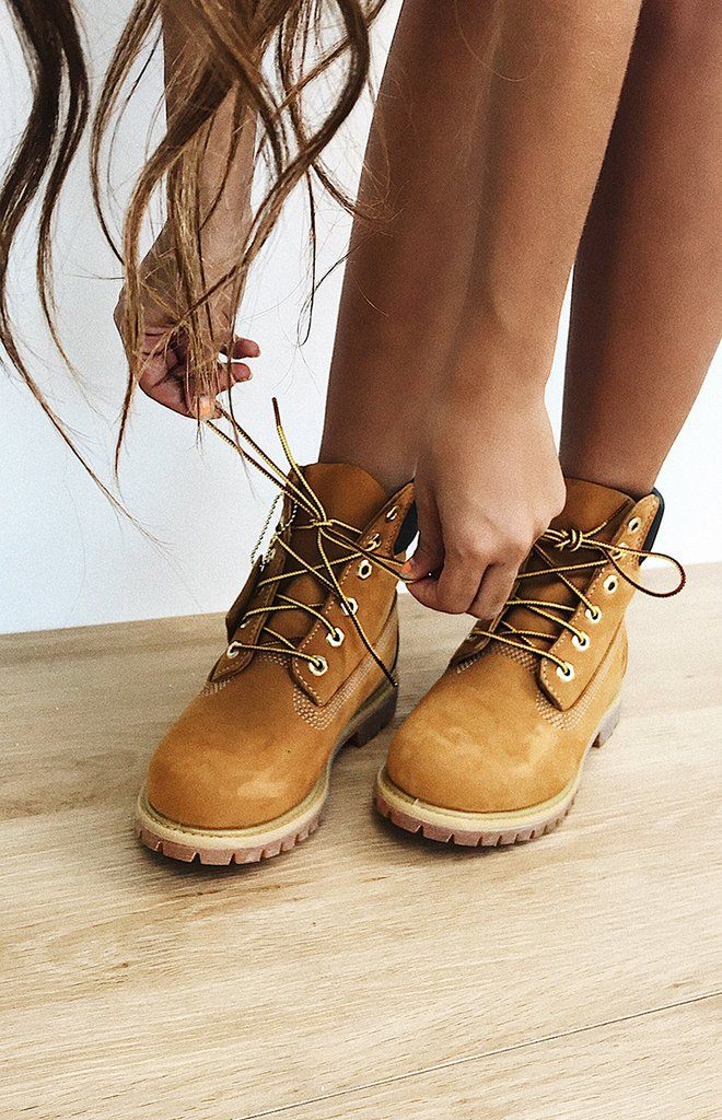 """4b2c872ce98 Your feet were made for walking in the oh-so-cool Timberland 6"""" Premium  Boots Wheat!"""