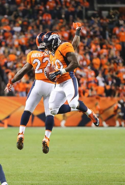 Juwan Thompson and C.J. Anderson - Broncos vs Chargers (10/23/14)