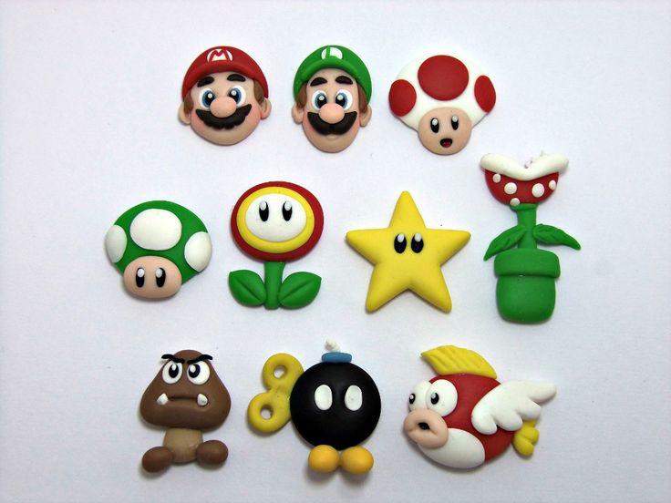 Apliques Miniaturas En Masa Flexible Lazos Recuerdos Regalos - Bs. 300,00 en MercadoLibre