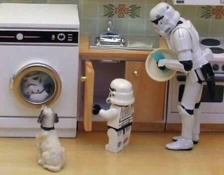 Stormtroopers have families ...