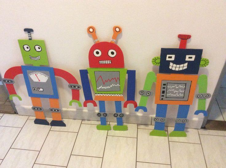 Vyrobení roboti do pokojíčku
