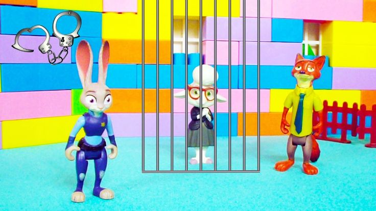 Yeni videolar - Zootropolis oyuncaklarının kurtarma operasyonu.Çocuk vid...