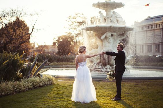 Royal Exhibition Building Wedding (Source: Beck Rocchi Photography via One Three One Four)