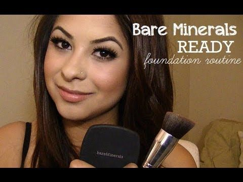 Tutorial: Bare Minerals READY Foundation (My Routine) - YouTube
