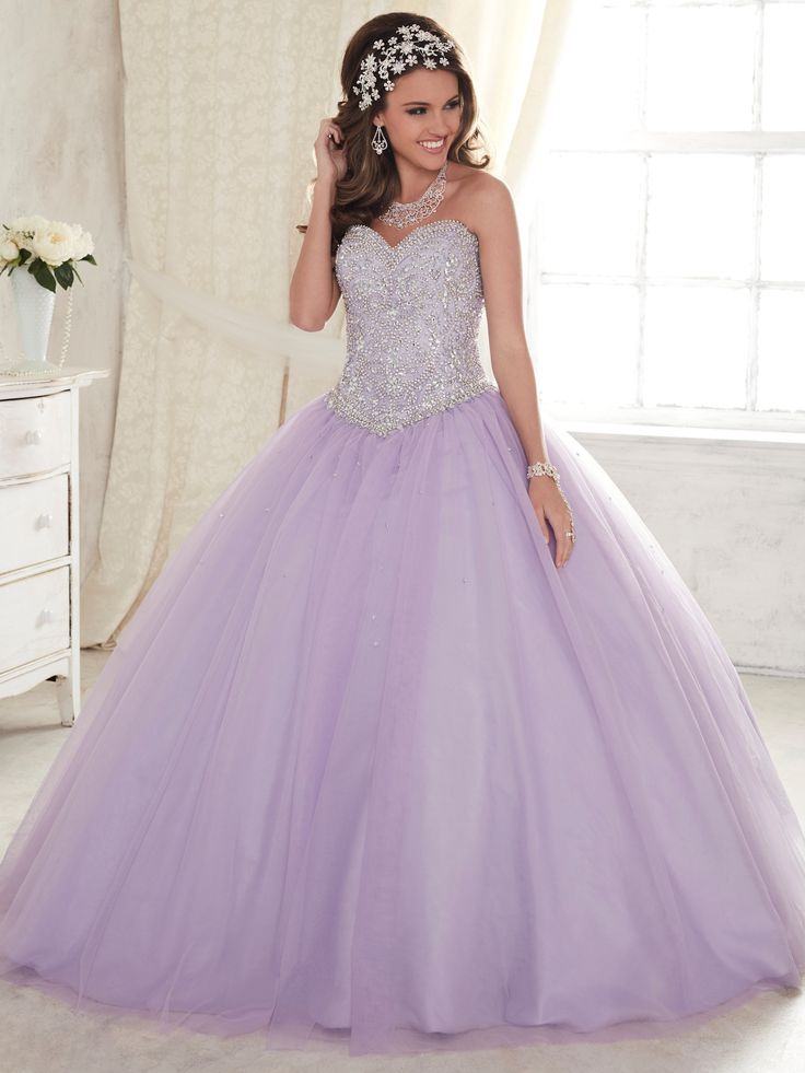 Strapless Beaded Dress by House of Wu Fiesta Gowns Style 56276