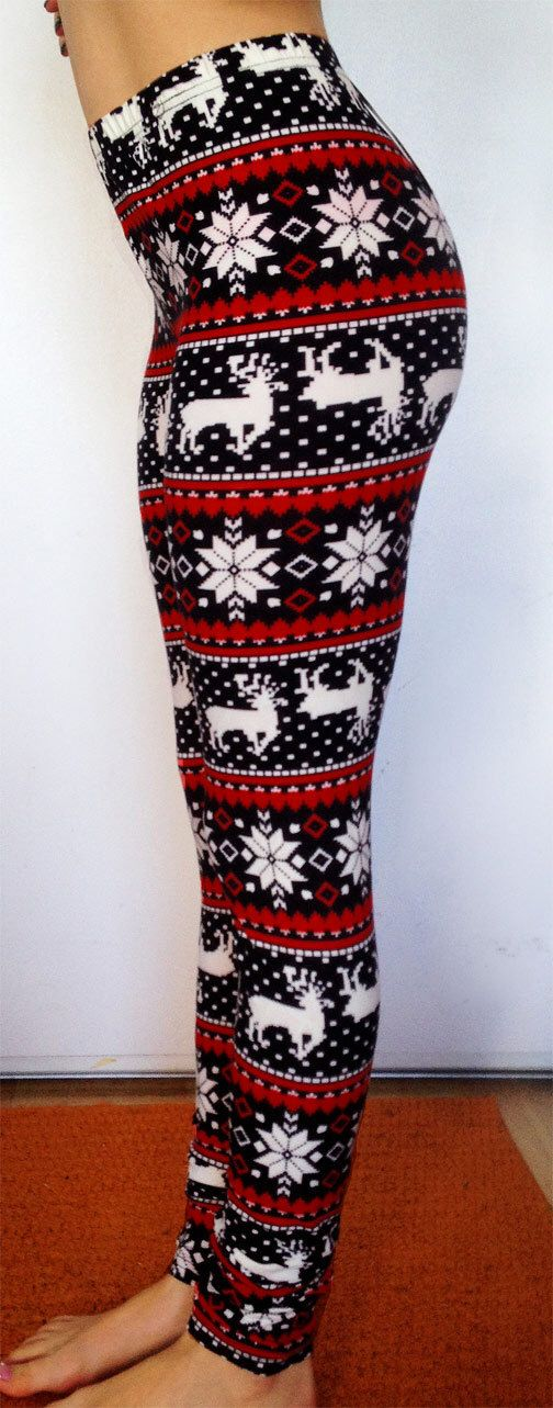 Best 25  Christmas leggings ideas on Pinterest | Aztec leggings ...