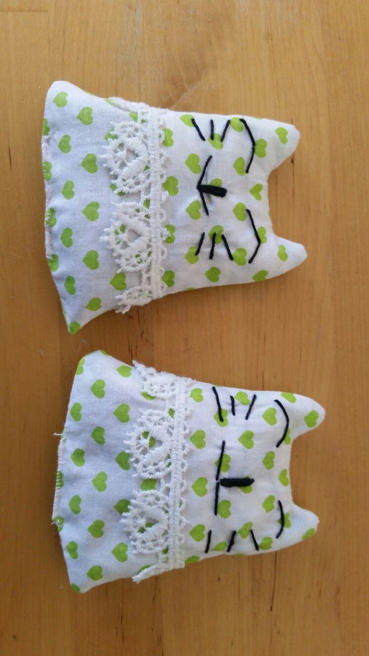 Kätzchen, die auch noch gut nach Lavendel duften...miau! Made by Eva