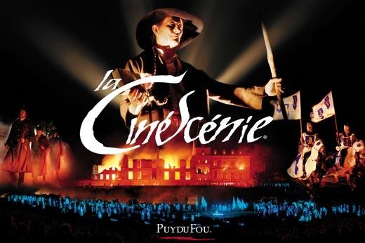 La Cinescenie du Puy du Fou, un de mes spectacles préférés ! (2x)