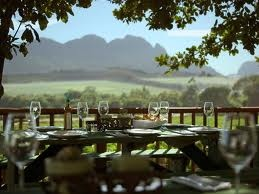 Red Leaf Restaurant - Beyerskloof  How I want to spend every Friday afternoon...