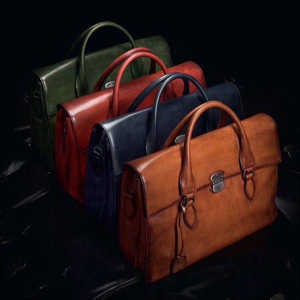 Leather Briefcases by Berluti E' Mio