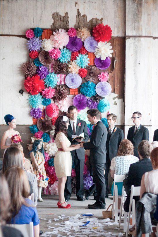 DIY Wedding Backgrounds