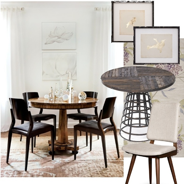 17 best images about cute dining rooms on pinterest for Cute black chairs