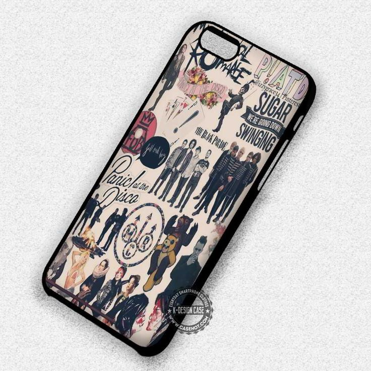 Punks and Roll Band My Chemical Romance - iPhone 7 6 5 SE Cases & Covers #music #bandcollage #iphonecase #phonecase #phonecover #iphone7case #iphone7 #iphone6case #iphone6 #iphone5 #iphone5case #iphone4 #iphone4case
