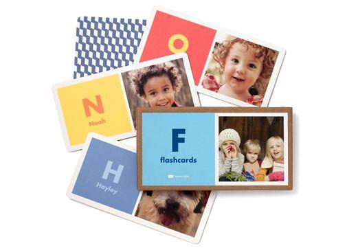 Personalized Alphabet Flash Cards | Pinhole Press $24.99
