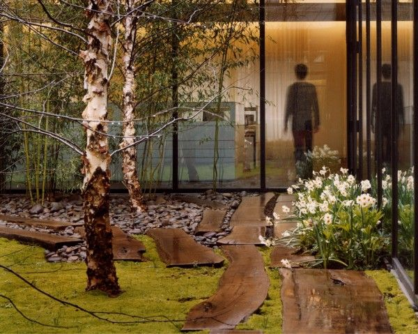tahari courtyards. created, and made real by a landscape architect.