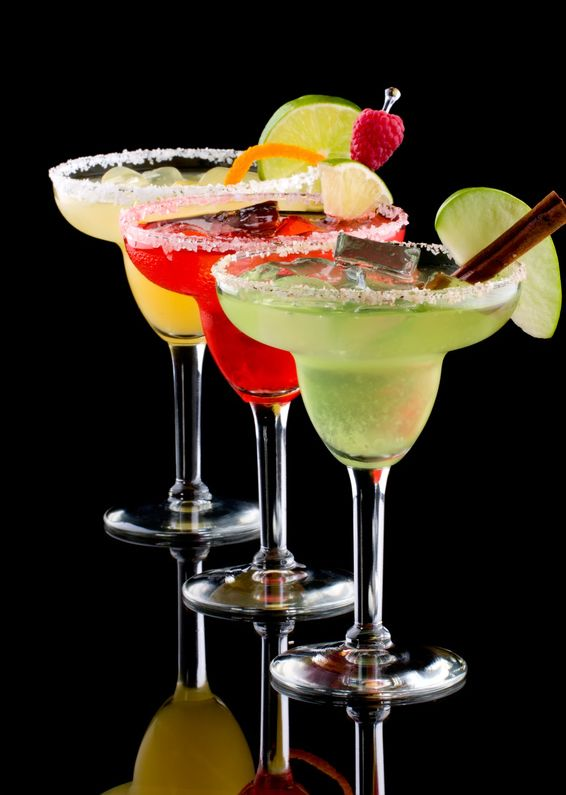 The Lounge at Studio Estique offers a fresh combination of Margaritas served with lime / fruit of your choice.