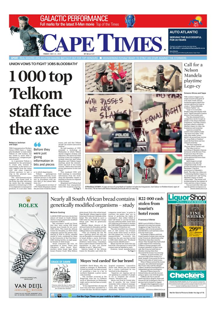 News making headlines: 1 000 top Telkom staff face the axe