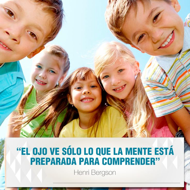 """""""El ojo ve sólo lo que la mente está preparada para comprender"""". Henri Bergson #FraseDelDiaClinicaCEO www.ceomedellín .com"""