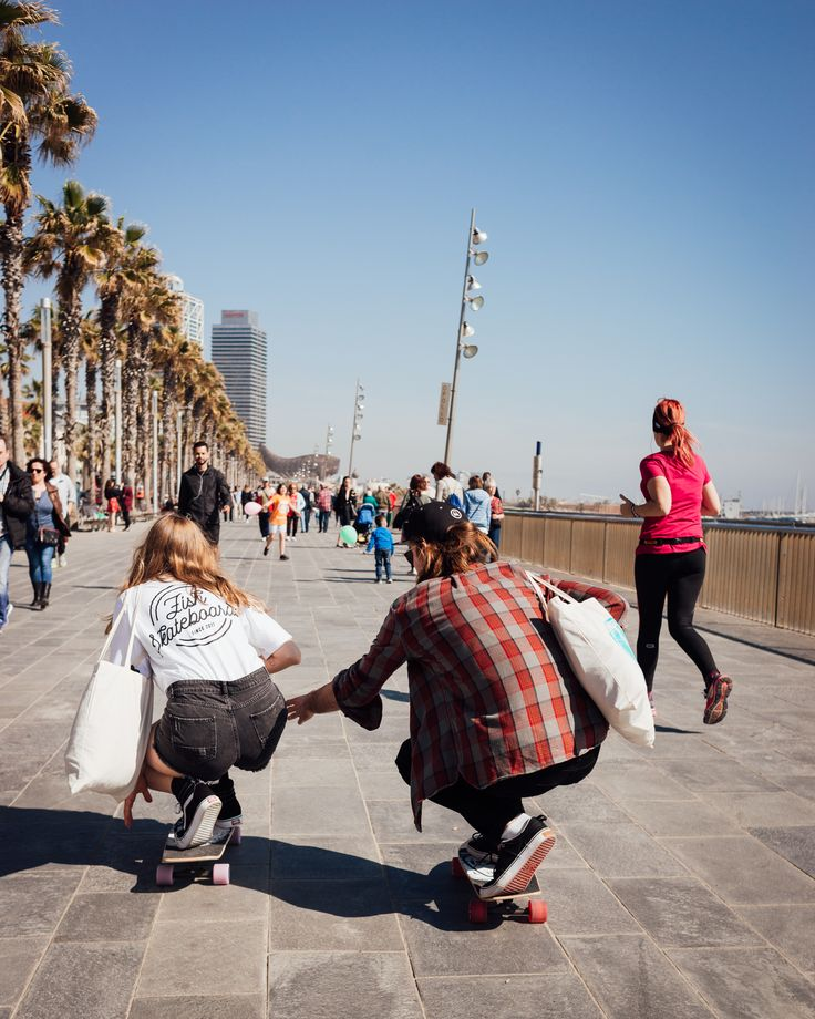Go skateboarding!