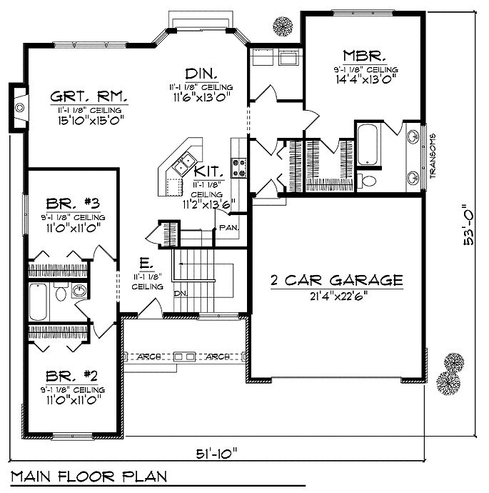 17 best images about floor plans under 1800 sq ft on for 1800 square foot house plans one floor
