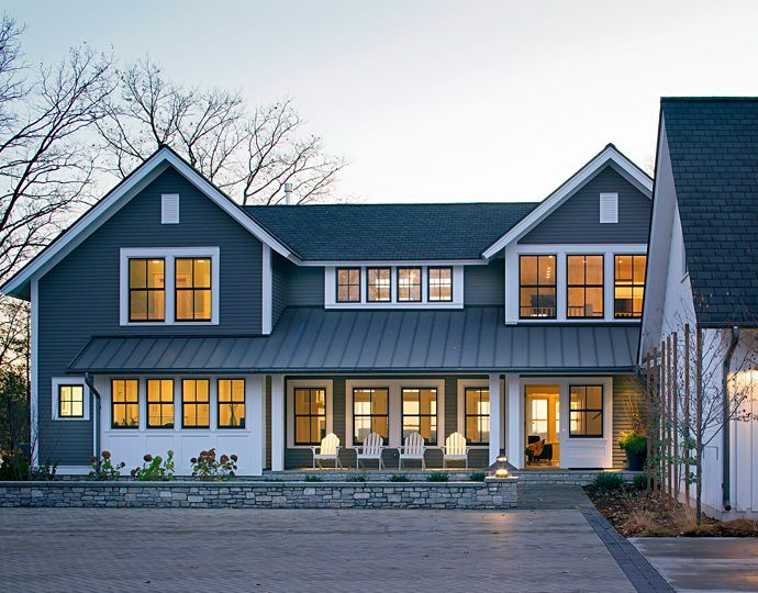 1000 Images About House Exterior Ideas On Pinterest Modern Farmhouse Exterior Colors And