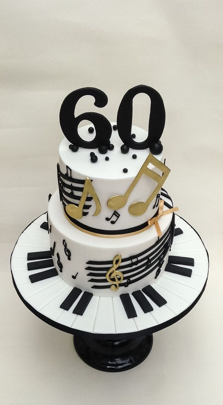Music Cakes 60 Birthday Amazing Daughter Cupcakes Daughters