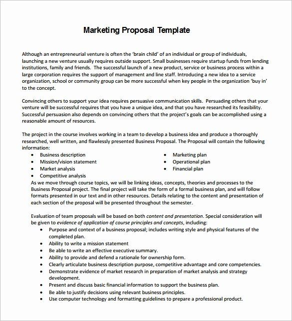 Digital Marketing Proposal Template Best Of Proposal Templates 140 Free Word Pdf Format Down In 2020 Marketing Proposal Proposal Templates Business Proposal Template