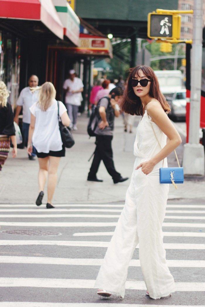 White jumpsuit - Love!