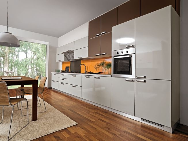 40 cozinhas brancas em vários estilos.: Light Blue Kitchen, Decoracao, Cozinha Branca, Ems Vário, Vário Estilo, 40 Cozinha, Branca Ems, Cozinha Decorada, Mini-Saia Branca