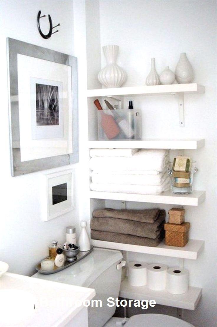 30 Creative And Practical Diy Bathroom Storage Ideas Diy Small Apartment Diy Bathroom Storage First Apartment Decorating