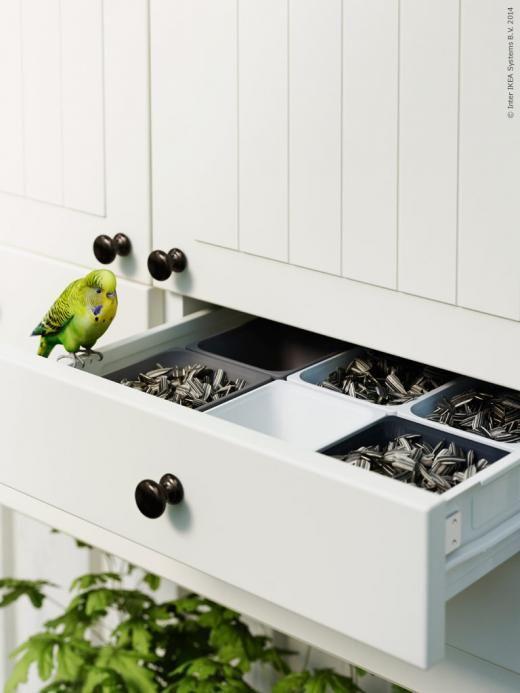 Cuisine Design Semi Ouverte : METOD kök med KROKTORP luckor och lådfronter Förenkla vardagen med