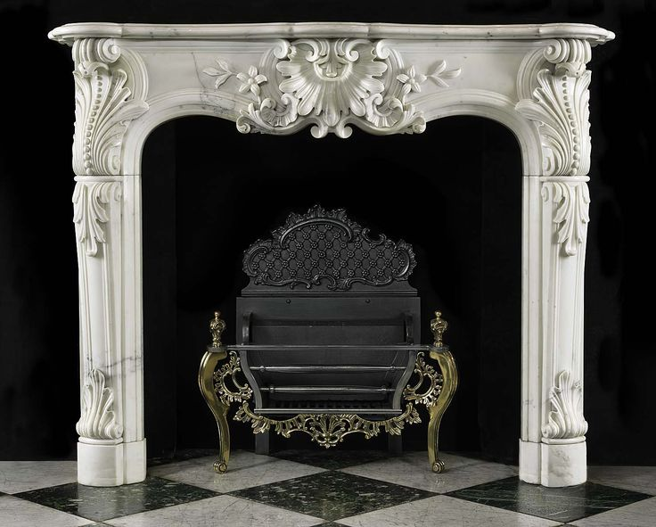 104 Best French Style Mantels Images On Pinterest