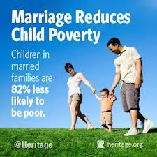 This is yet another blessing for those who are married. Godly marriage protects children.