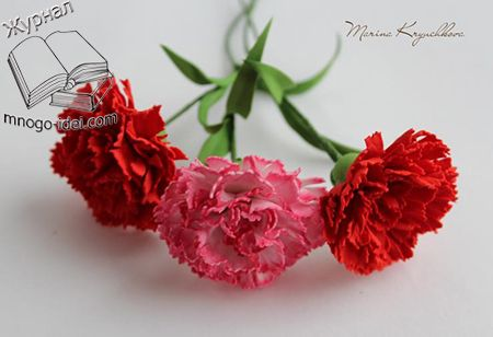 Гвоздика из фоамирана мастер класс | Цветы из фоамирана Добрый день дорогие друзья. Сегодня мы с вами рассмотрим мастер класс по изготовлению красивой гвоздики из фоамирана, автором данного мастер класса является Марина Крючкова. Гвоздика яркий, симпатичный цветок, который очень часто также делают своими руками мастера из различных материалов. Очень часто цветы гвоздики делают из бумаги, …