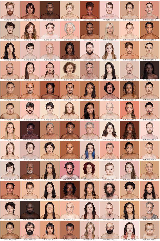 Humanae heeft als doel onze ware kleuren op te lichten in plaats van de onware kleuren wit, rood, zwart of geel waarmee we rassen trachten in te delen.