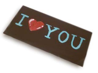 Il tuo messaggio di cioccolato. Personalizzabile! http://www.cioccolateriaveneziana.it/negozio/tavoletta-di-cioccolato-personalizzata/