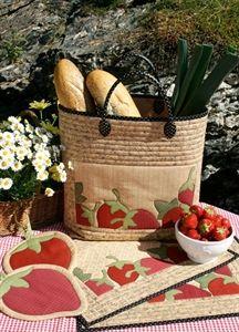 """Strawberry Dream"" pattern by AnnAKa. Fun, no? :-)"