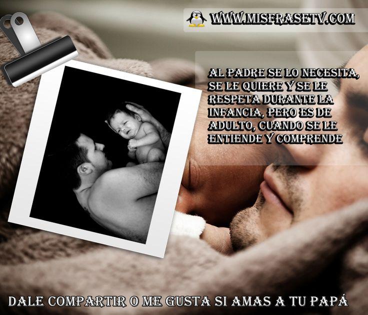 Lindos Carteles para el Dia del Padre para compartir visitanos a nuestro portal web www.misfrasetv.com