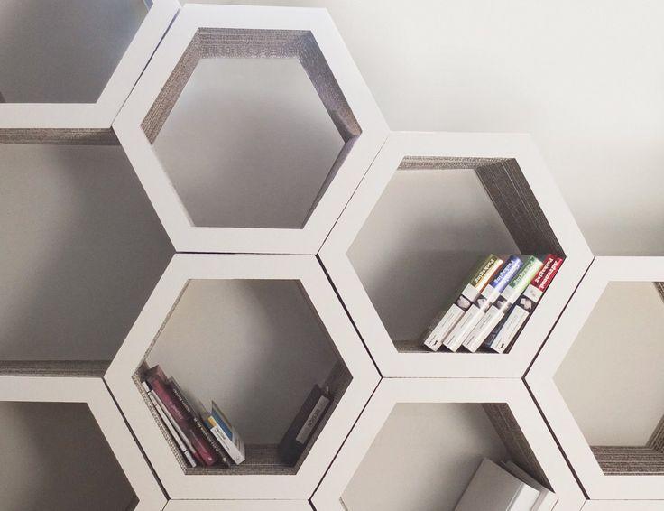 Honeycomb Bookcase