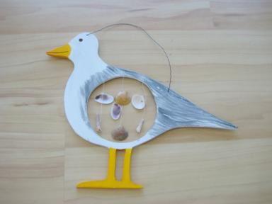 meeuw knutselen / mouette bricolage