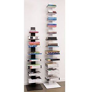 DWR White Sapien Bookcase tall   http://www.dwr.com/product/sapien-bookcase-short.do?sortby=ourPicks