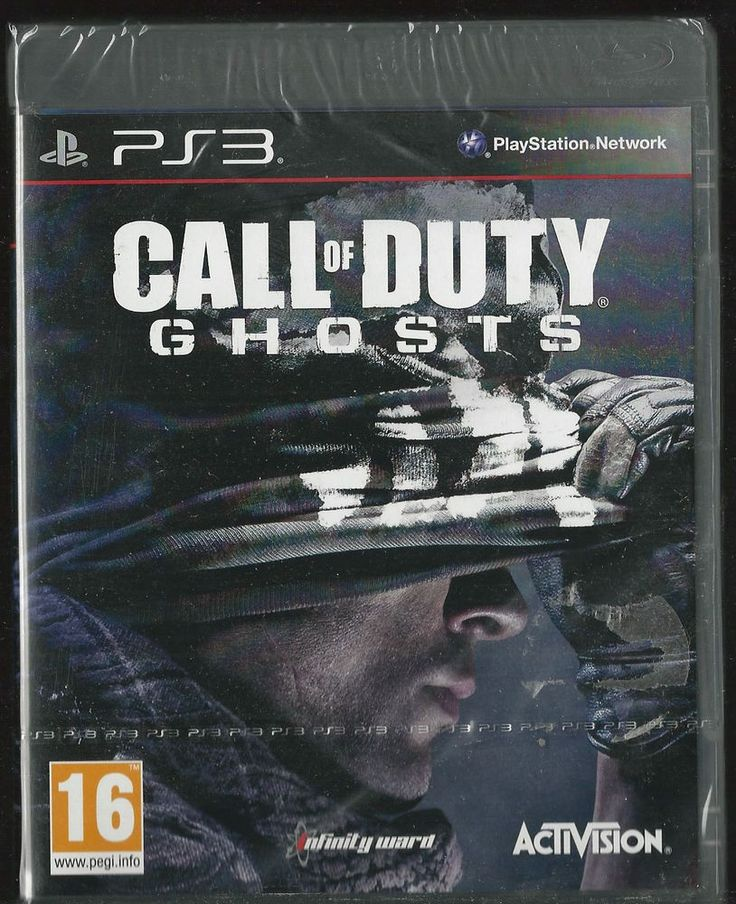 Playstation 3 Call of Duty: Ghosts Standard edition Brand NEW ps3