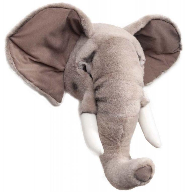 Dyrehode elefant til barnerommet