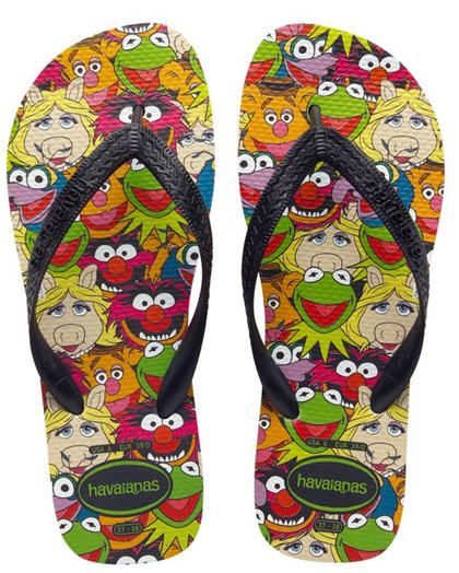 4cf6a5f39ea565 Havaianas partners with The Muppets for sandals. They cost  26