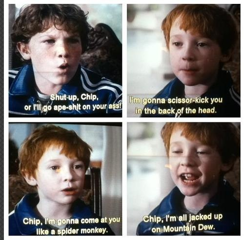 talladega nights These kids had the best lines